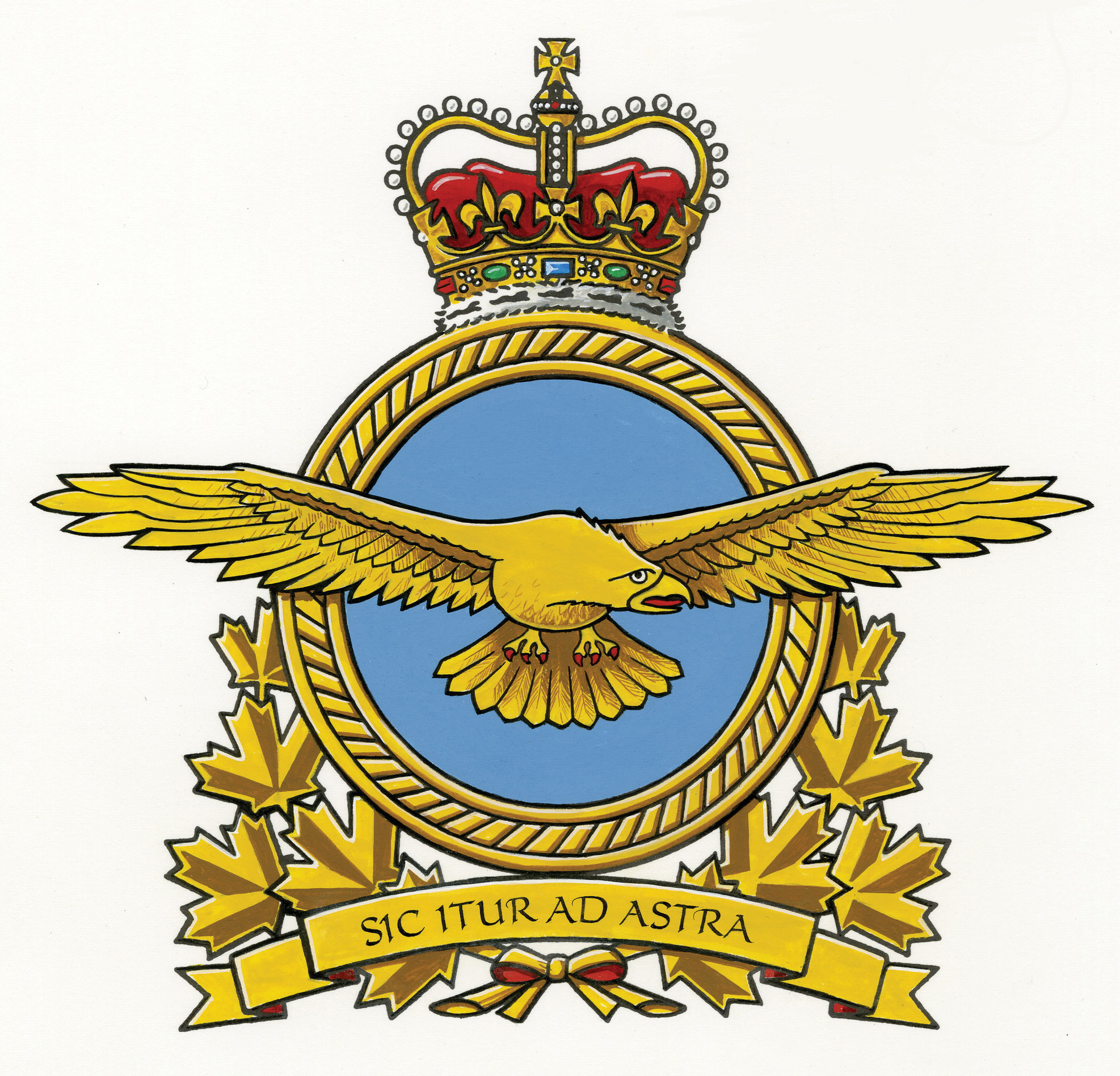 L'insigne de l'Aviation royale canadienne