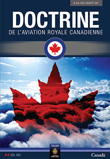 Couverture de B-GA-400-000/FP-001, Doctrine de l'Aviation royale canadienne