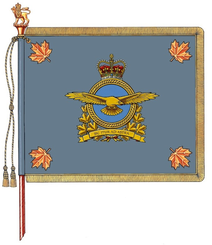Drapeau du commandement de l'Aviation royale canadienne