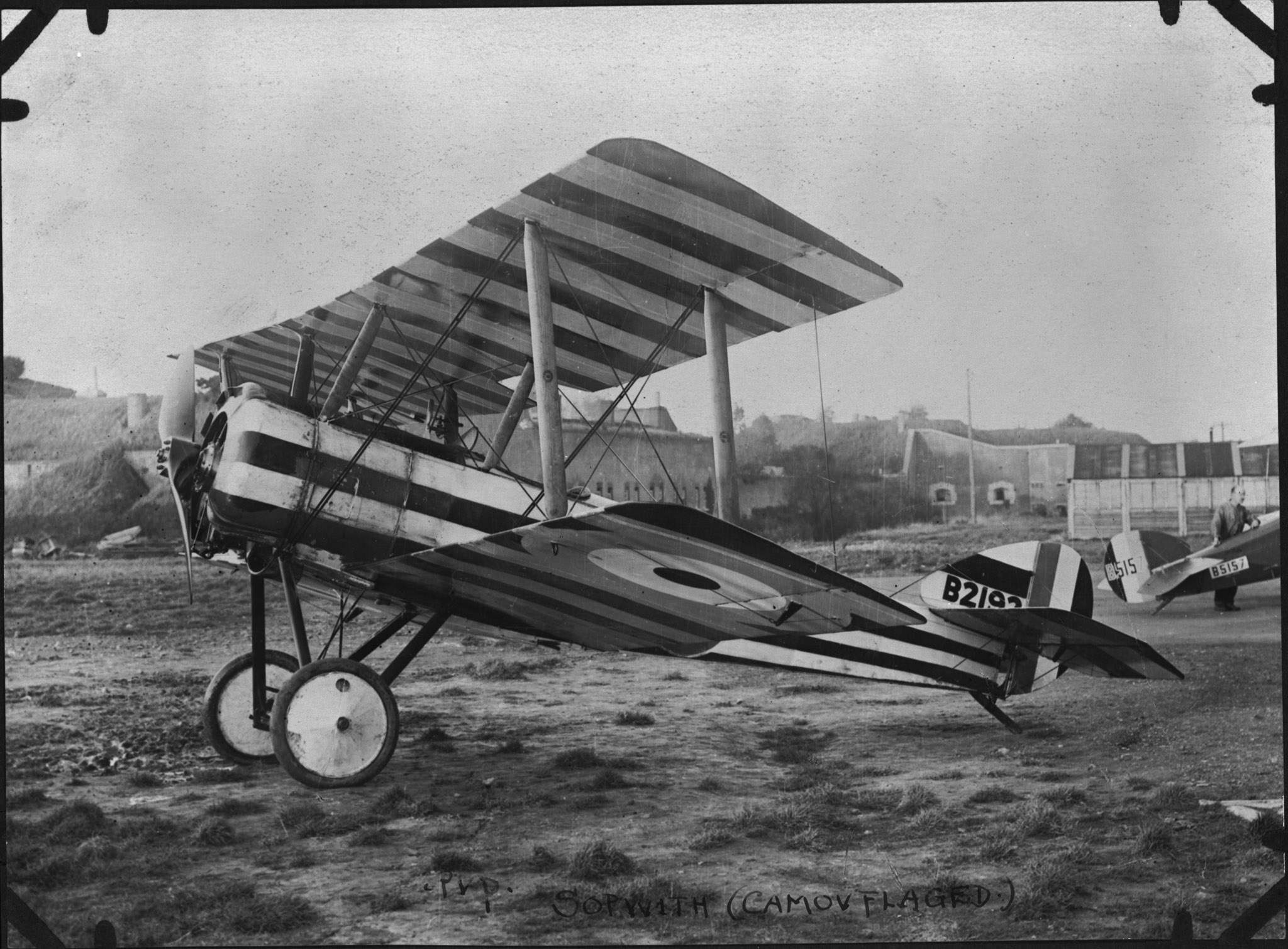 "A Sopwith Pup. No. 3 Squadron of the Royal Navy Air Service, equipped with Pups, was one of four RNAS squadrons temporarily placed at the disposal of the Royal Flying Corps in the lead-up to the Battle of Vimy Ridge. No. 3 Squadron was commanded by Canadian Redford ""Red"" Mulock. PHOTO: DND Archives, RE-20572"