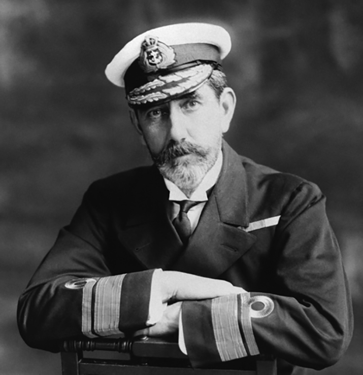 An undated photograph of Admiral Charles Edmund Kingsmill, Director Canadian Naval Service. PHOTO: Library and Archives Canada, PAO42541