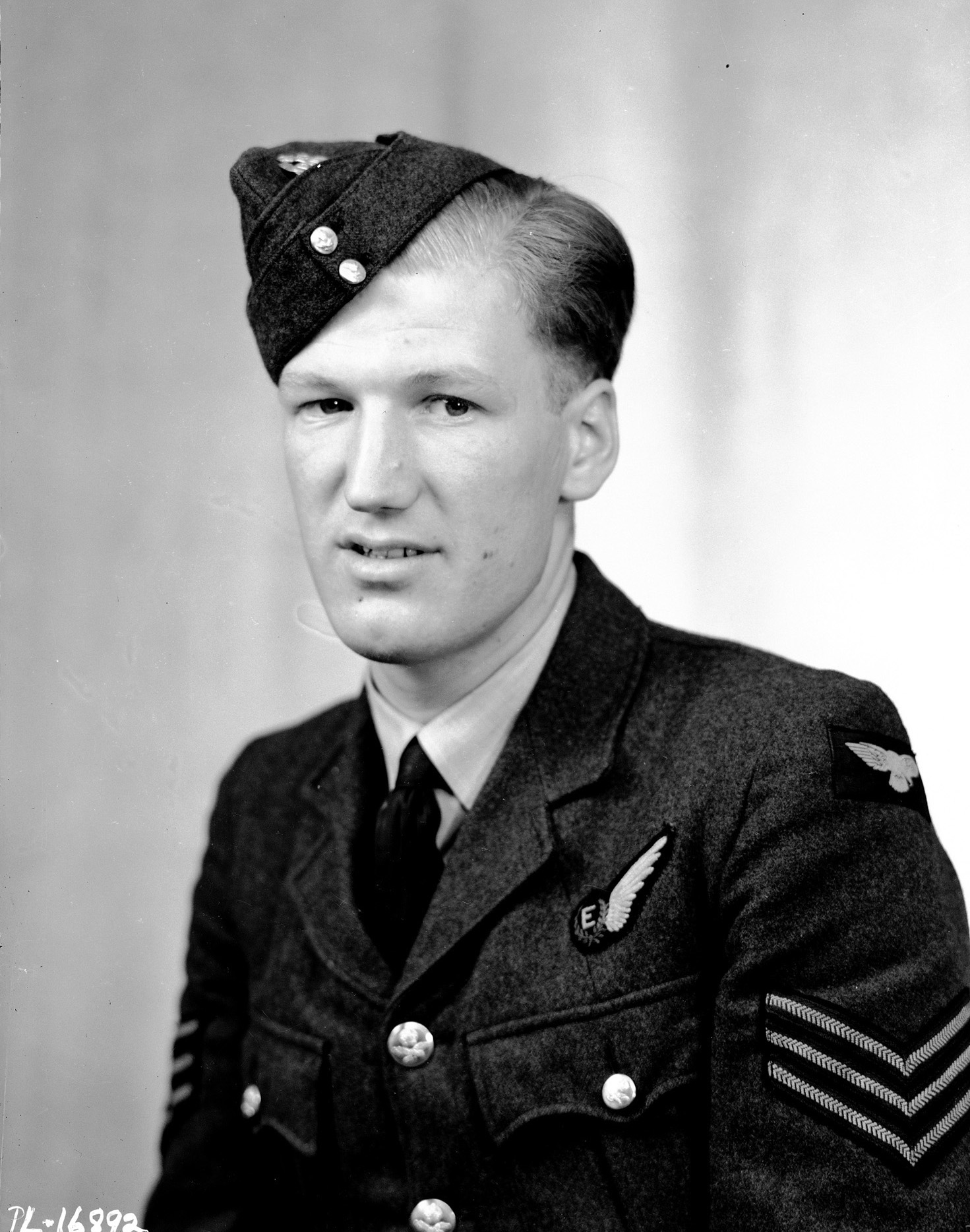 Sergeant William Radcliffe, RCAF, was photographed in London, England, shortly after the Dambusters raid. PHOTO: DND Archives, PL-16892
